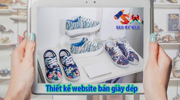 Thiết Kế Website Bán Giày Dép